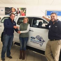 A brand new Ford Ranger for the ORCT