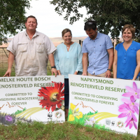 """New easement signing: """"I first wanted to develop on my Renosterveld"""""""